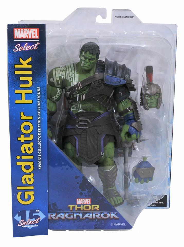 Diamond Select Toys In Stores This Week – Marvel Select Thor: Ragnarok Gladiator Hulk Figure
