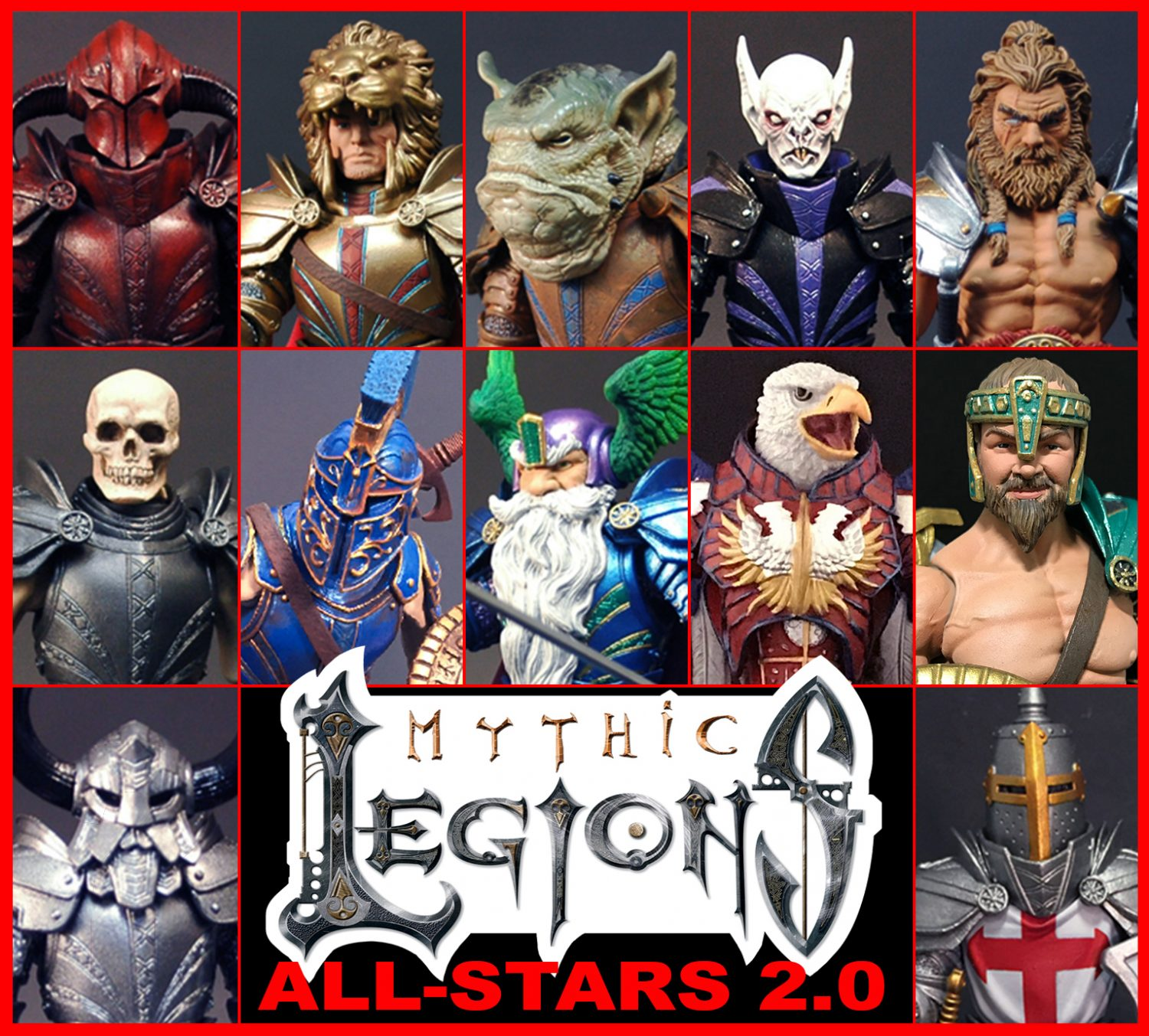 Mythic Legions 2.0 All-Stars Results & Pre-Orders Launched