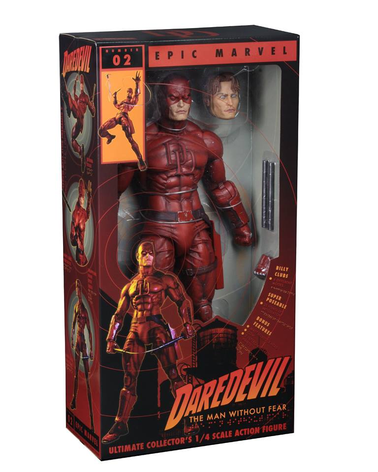 NECA Toys Shipping This Week – 1/4″ Scale Daredevil Figure