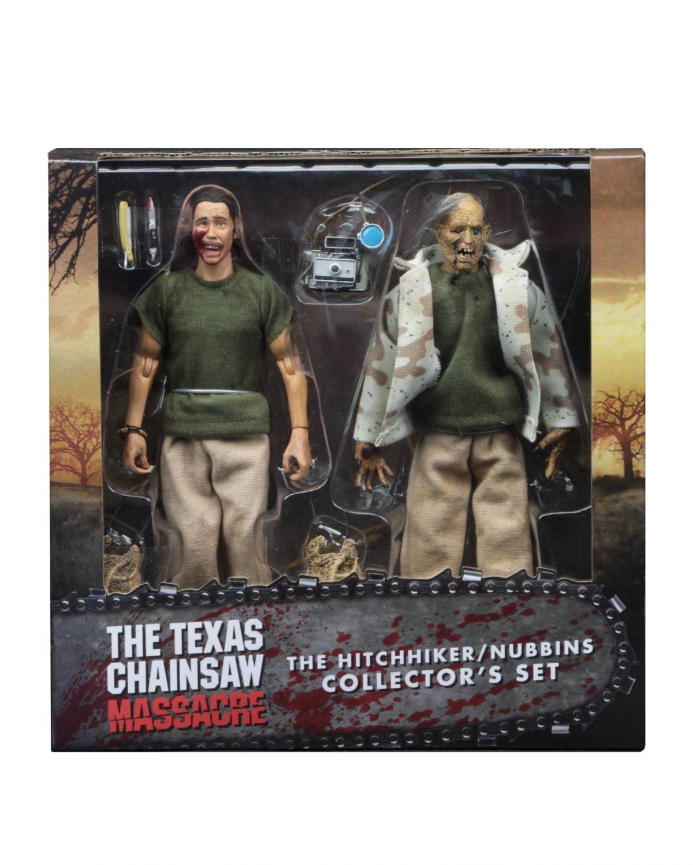 NECA Toys Texas Chainsaw Massacre 8″ Nubbins Sawyer Collector's Figure Set On Amazon & eBay