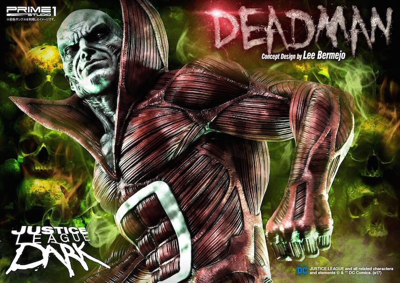Prime 1 Studio Justice League Dark Deadman Statue