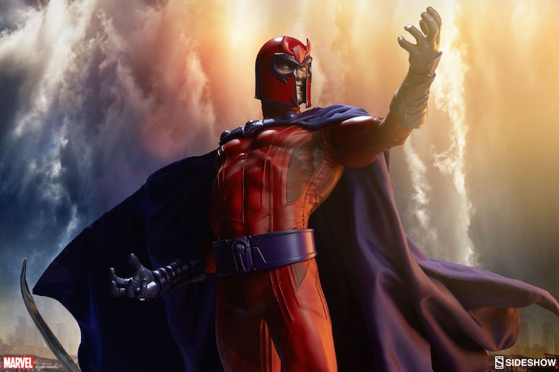 Sideshow Collectibles Marvel Comics Magneto Maquette