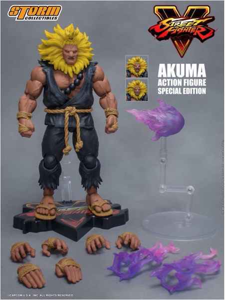 Storm Collectibles Street Fighter V Akuma – Special Edition Figure