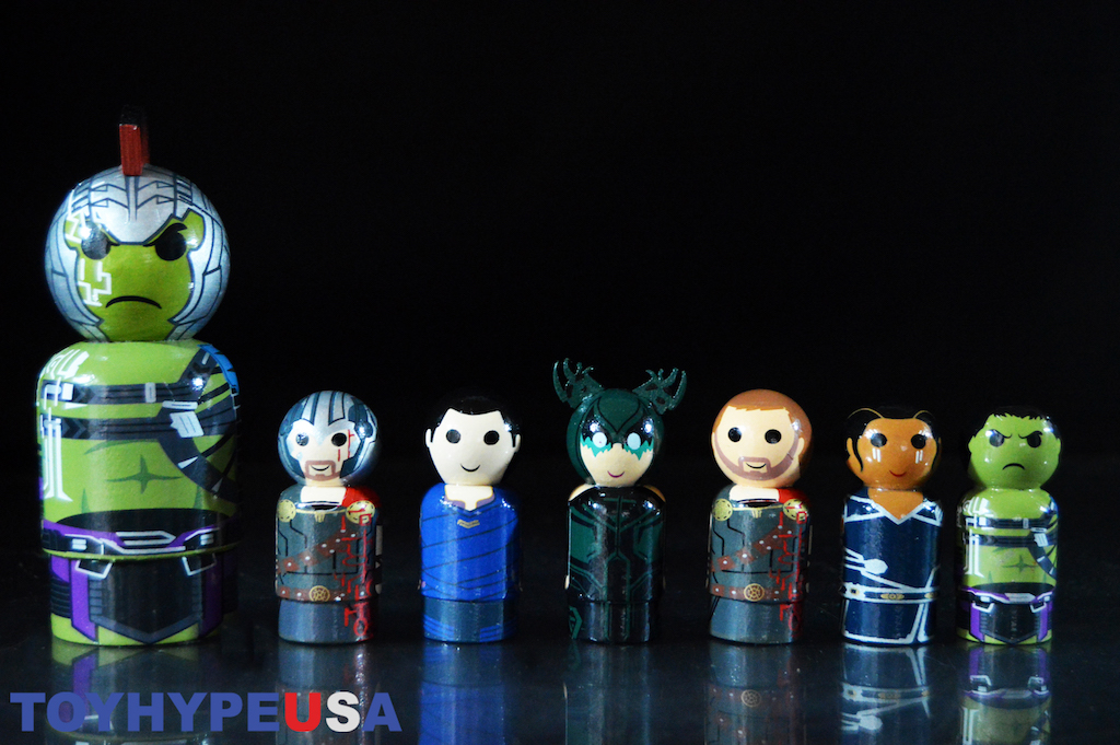 Bif Bang Pow! Marvel & Star Trek Pin Mates Wooden Figures Review