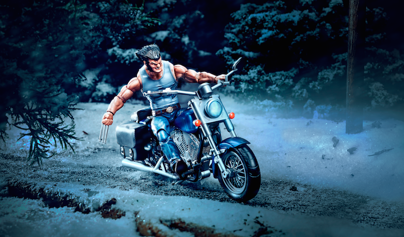 Hasbro Marvel Legends 6″ Wolverine With Motorcycle Box Set Pre-Orders
