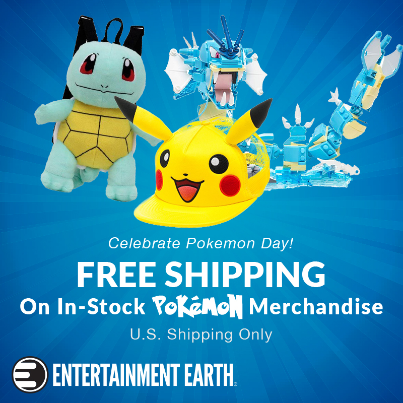 Entertainment Earth Offers Pokémon Sale Today Only