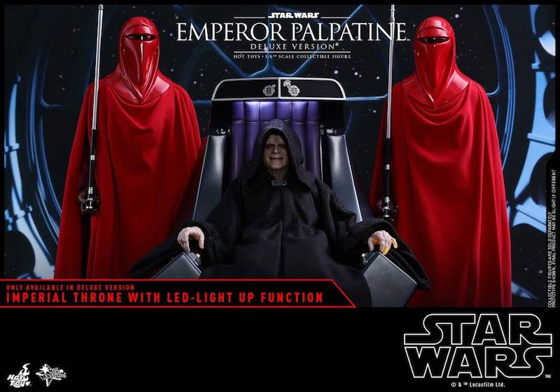 Hot Toys Star Wars Emperor Palpatine & Royal Guard Sixth Scale Figure Pre-Orders