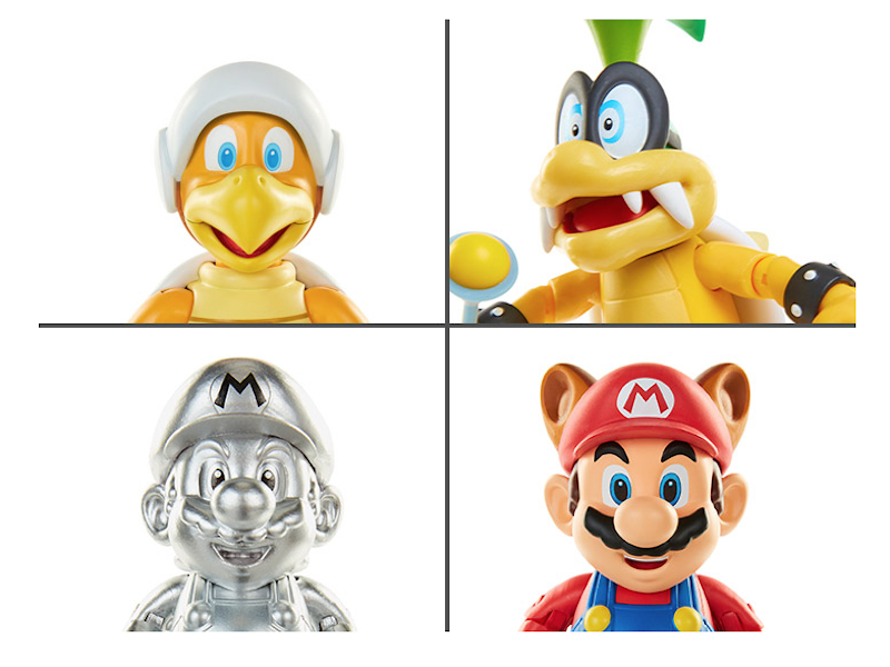 Jakks Pacific World Of Nintendo 4″ Series 12 Figures