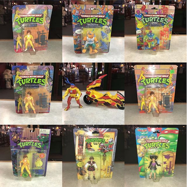 Kokomo Toys eBay Store – Vintage Playmates Toys Teenage Mutant Ninja Turtles Carded Figures