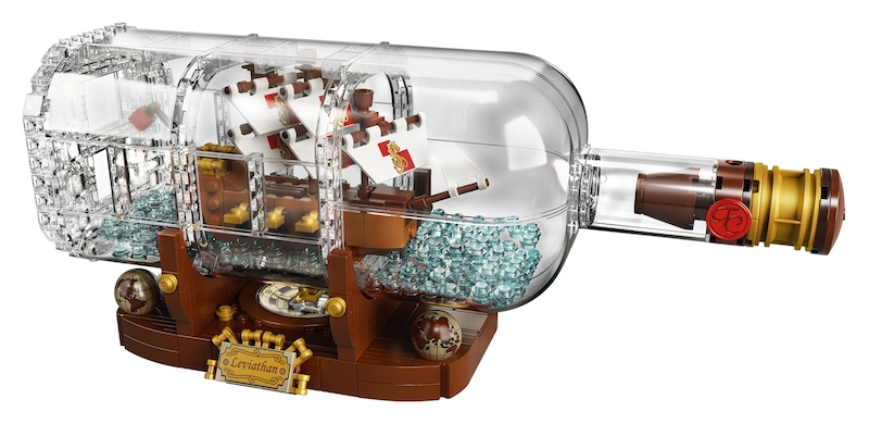 LEGO IdeasShip In A Bottle Available Now On LEGO Shop