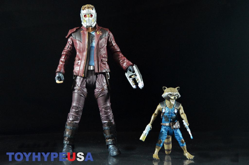 Marvel Select GOTG Vol. 2 Star-Lord With Rocket Figures Review