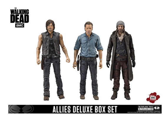 McFarlane Toys The Walking Dead TV Series 5″ Allies Deluxe Box Set Available Now
