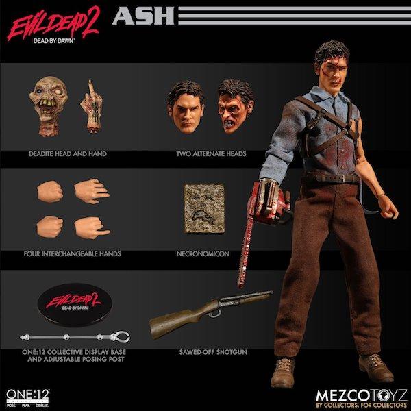 Mezco Toyz One:12 Collective Evil Dead 2 Ash Williams Figure