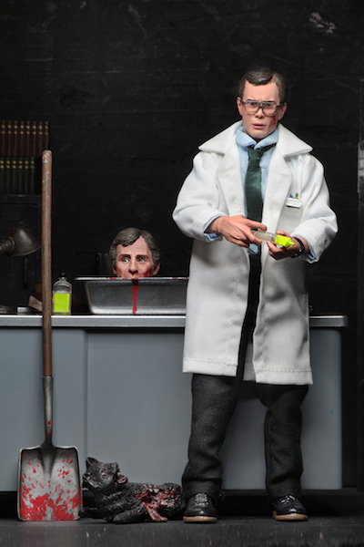 NECA Toys Shipping This Week – Re-Animator – 8″ Clothed Herbert West Figure & Life Size Groot