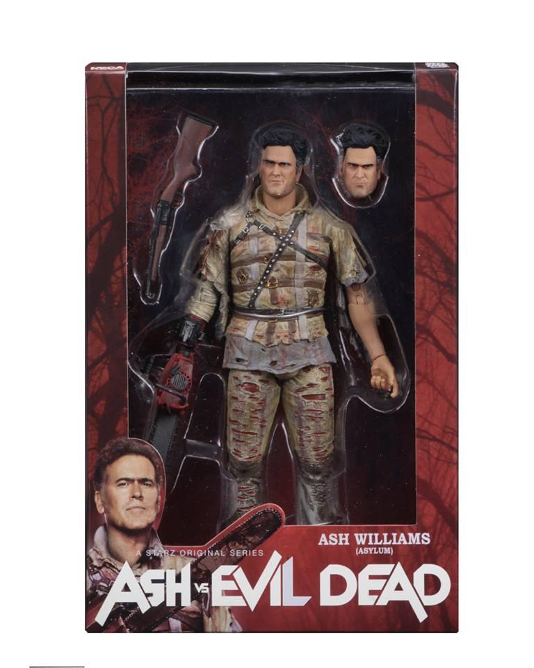 NECA Toys Ash vs Evil Dead 7″ Figures Series 2 In-Packaging