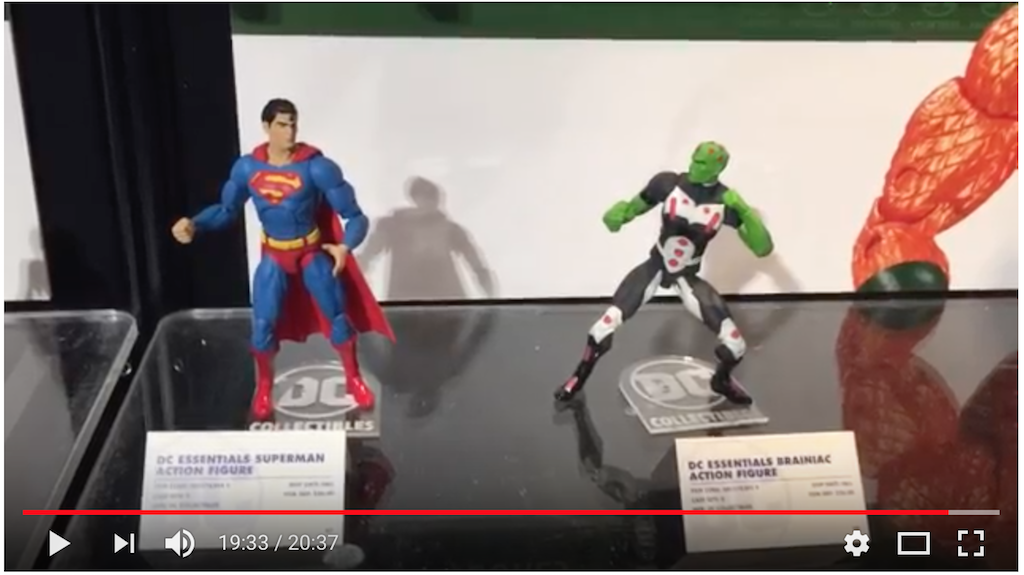 NYTF 2018 – DC Collectibles Walkthrough & Video Interview With Jim Fletcher