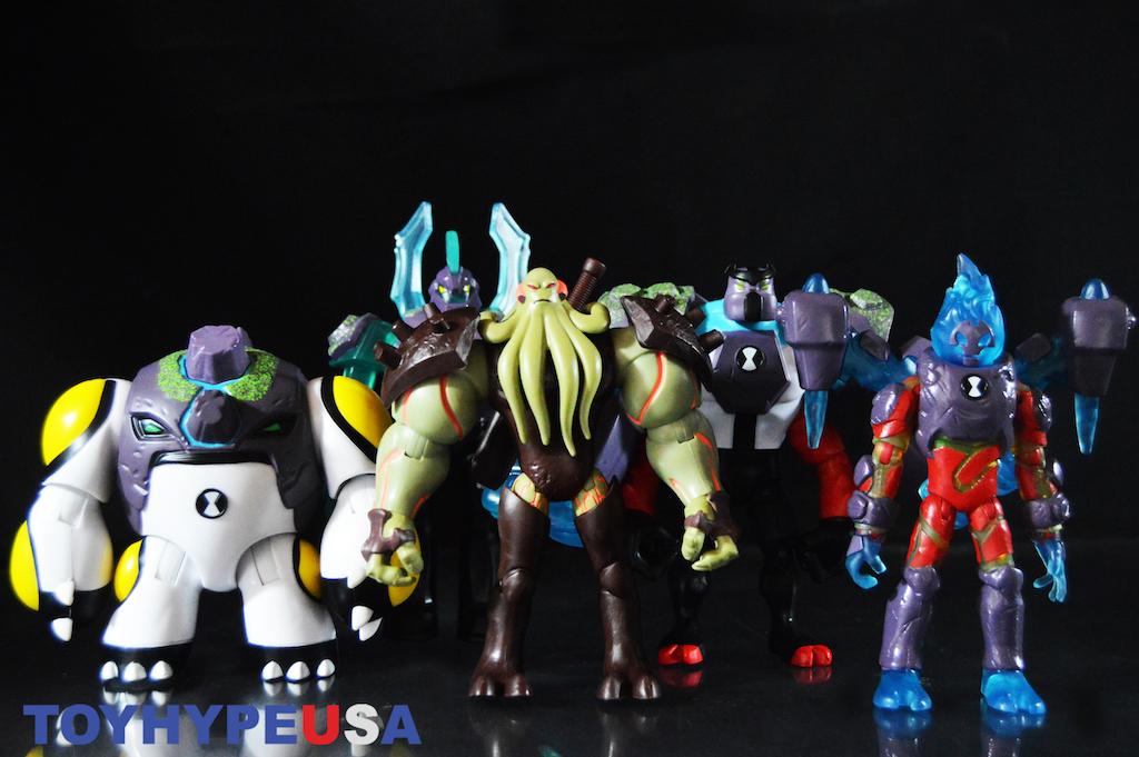 Playmates Toys Ben 10 Series 3 – Omni-Enhanced Aliens & Vilgax Figures Review