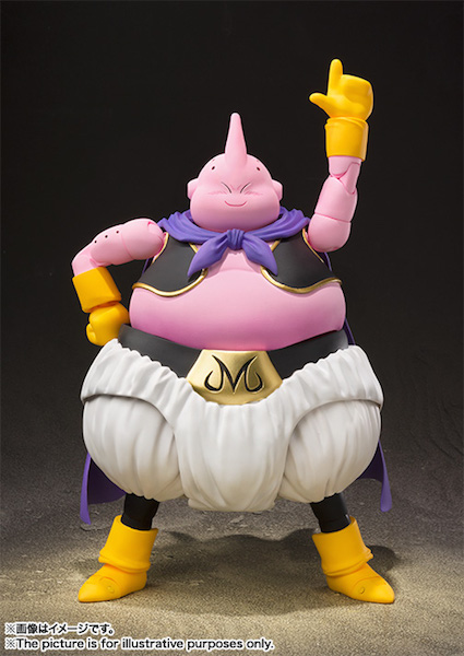 S.H. Figuarts Dragonball Z Majin Buu Figure Releases On September 25th At Amazon