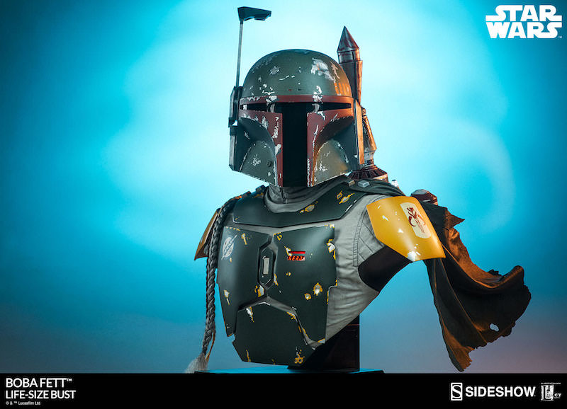 Sideshow Collectibles Star Wars Boba Fett Life-Size Bust Pre-Orders