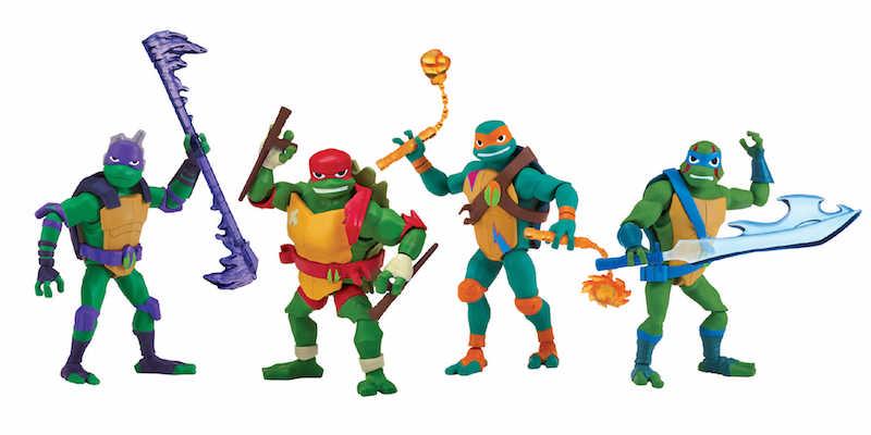 NYTF 2018 – Playmates Toys Teenage Mutant Ninja Turtles Toys Revealed