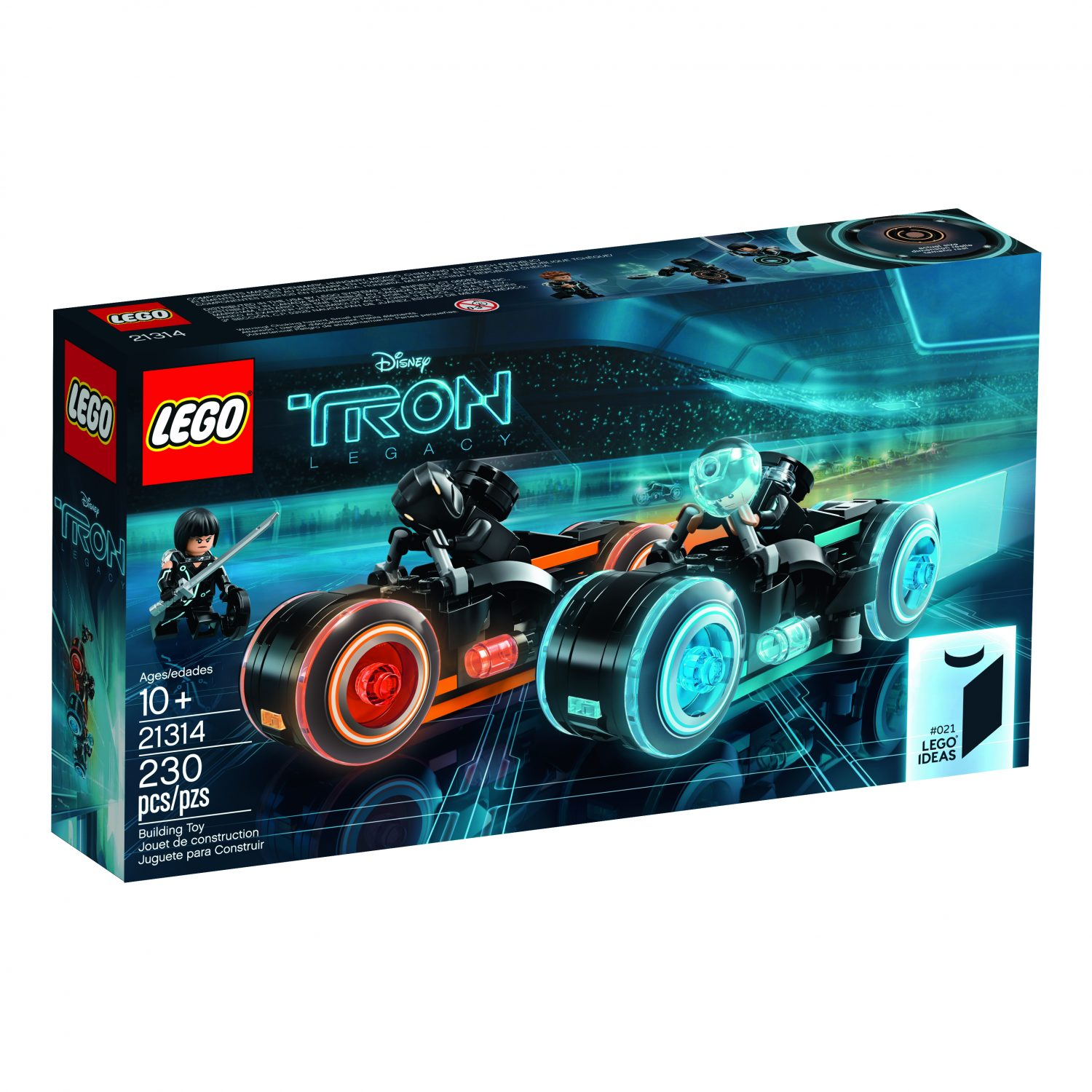 LEGO TRON: Legacy 21314 Set Official Press Release