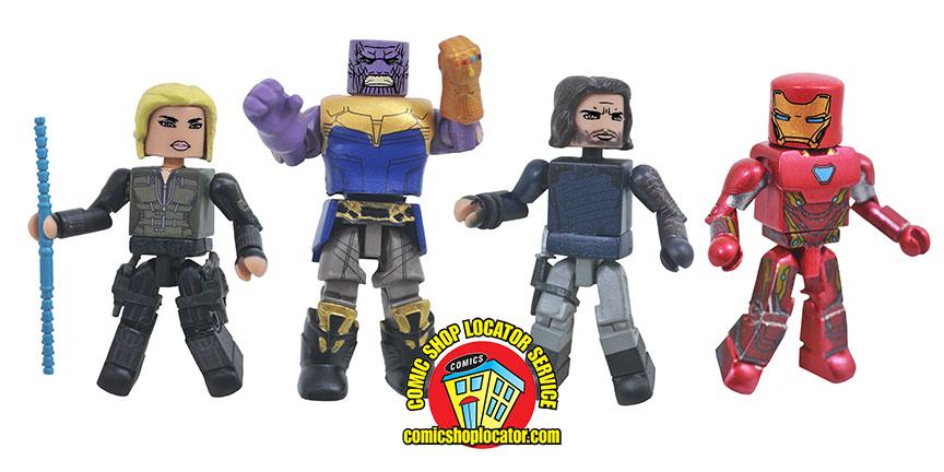 Diamond Select Toys Avengers: Infinity War Minimates Update