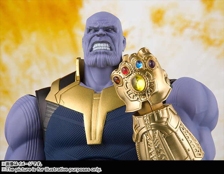 Bandai S.H. Figuarts Avengers: Infinity War Official Product Images