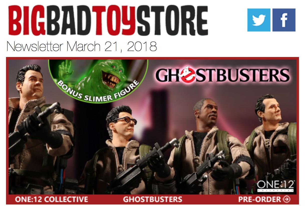 BigBadToyStore – Ghostbusters, Marvel, DC, Dragon Ball Z, One Piece, Star Trek, Robotech, MOTU & More