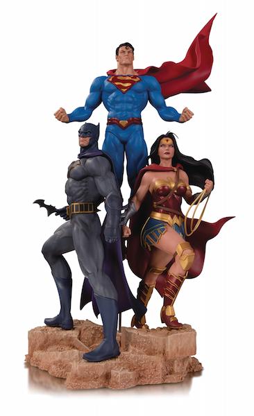 DC Collectibles Solicitations For September 2018 – Batman Statues, DC Essentials, Teen Titans & More