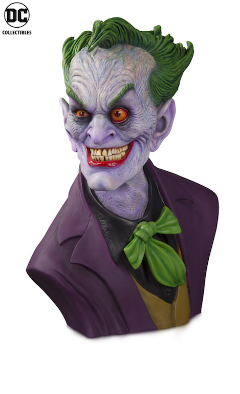 Watch Rick Baker Sculpt The Joker Bust In New Time-Lapse Video From DC Collectibles