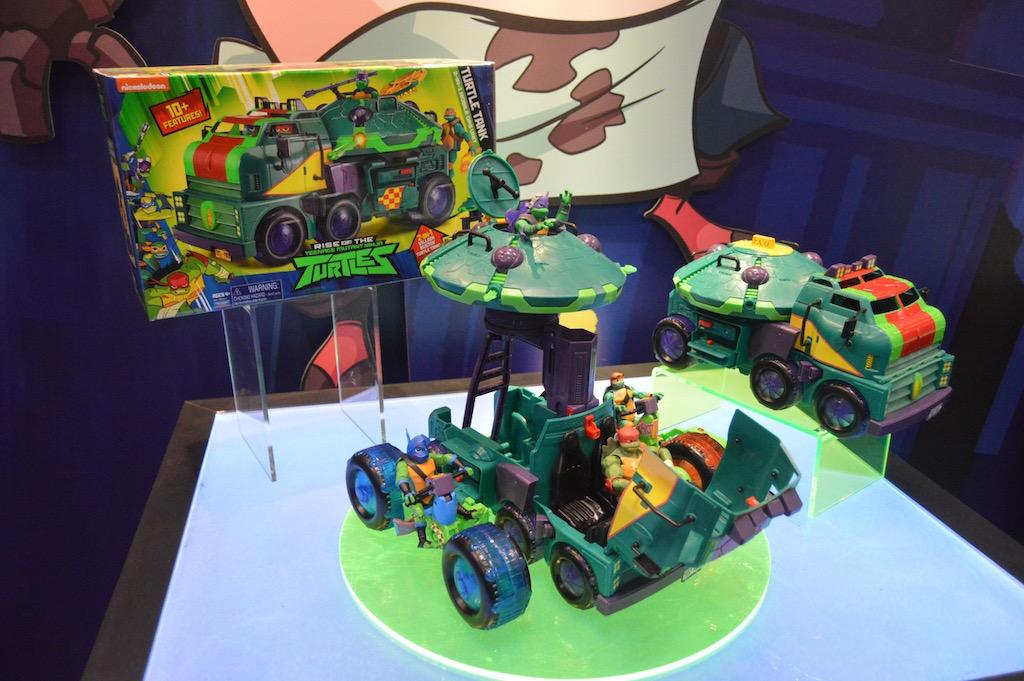 NYTF 2018 – Playmates Toys Teenage Mutant Ninja Turtles, Voltron & Ben 10 Booth Coverage
