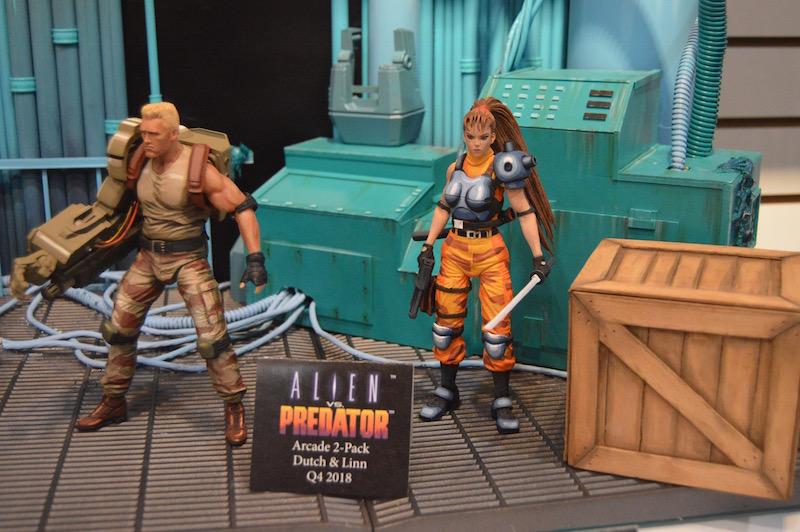 NYTF 2018 – NECA Toys Booth Coverage – Predator, Alien, TMNT & More