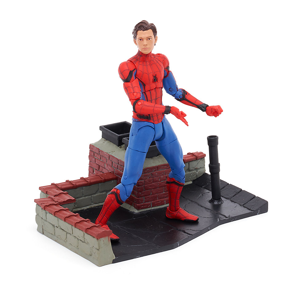 Disney Store Exclusive Marvel Select Spider-Man: Homecoming – Unmasked Spider-Man Figure