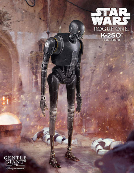 Gentle Giant Rogue One: A Star Wars Story – K-2SO Sixth Scale Statue