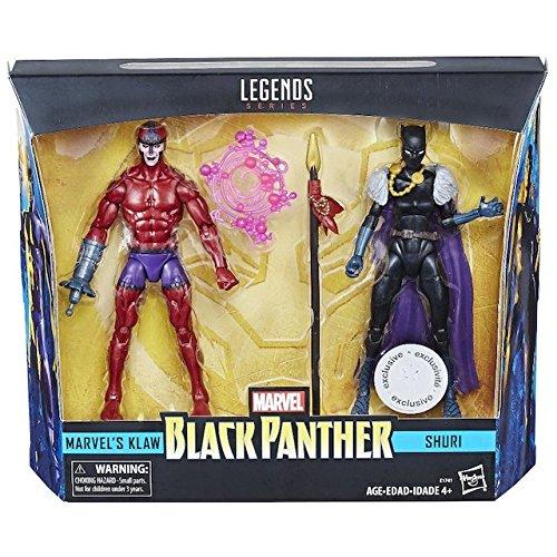 Hasbro Marvel Legends Black Panther 6″ Shuri & Klaw Figure Pre-Orders
