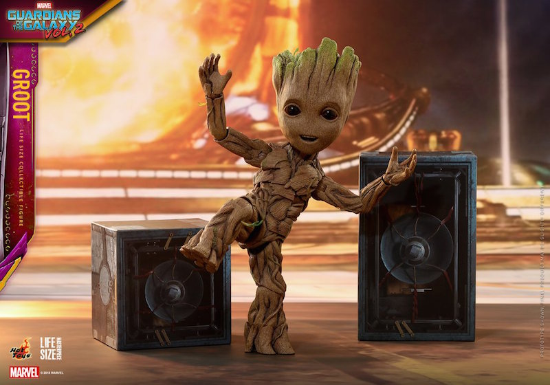 Hot Toys Guardians Of The Galaxy Vol. 2 – Life Size Baby Groot Figure