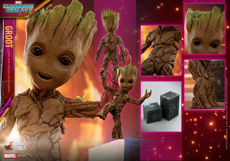 Hot Toys Guardians Of The Galaxy Vol. 2 – Life Size Baby Groot Figure Pre-Orders
