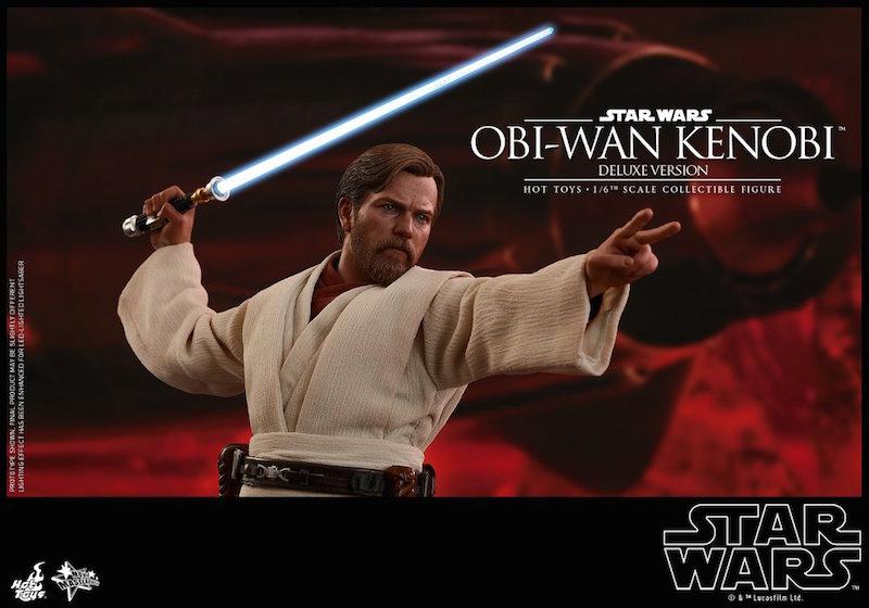 Hot Toys Star Wars: Revenge Of The Sith – Obi-Wan Kenobi Sixth Scale Figure