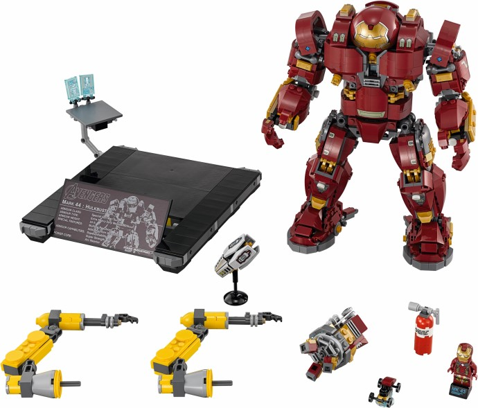 LEGO Shop Exclusive The Hulkbuster: Ultron Edition Now Available