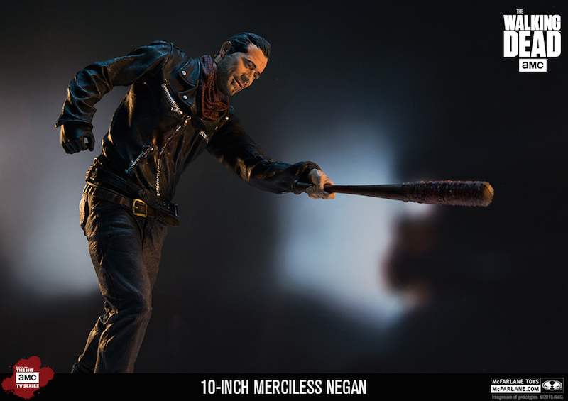 McFarlane Toys The Walking Dead Merciless Edition Negan 10″ Scale Deluxe Figure
