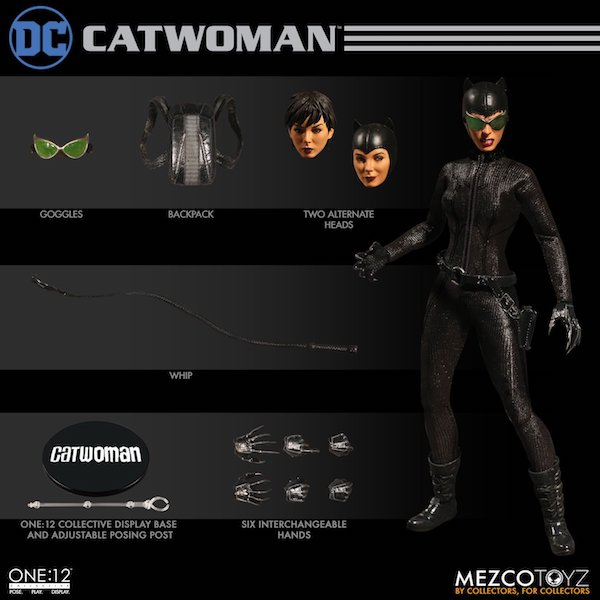 Mezco Catwoman One:12 Collective Figure On Sale For $67.99