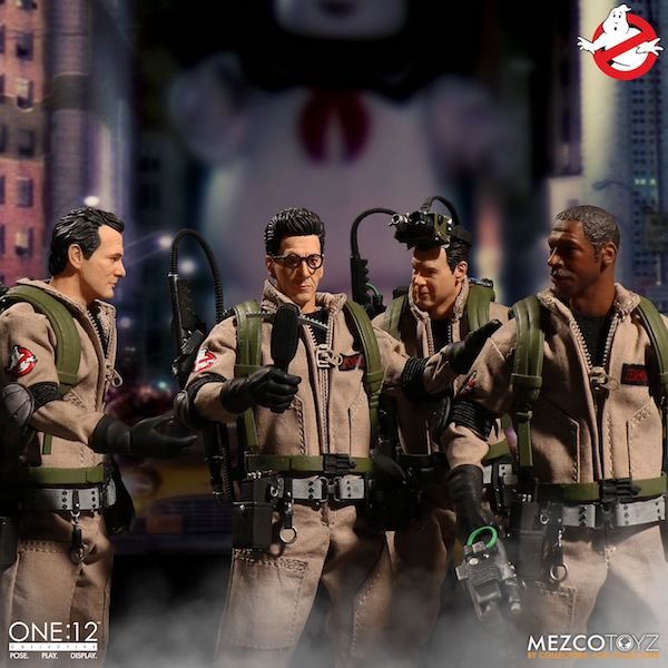 Mezco Toyz Ghostbusters One:12 Collective Box Set Available Now