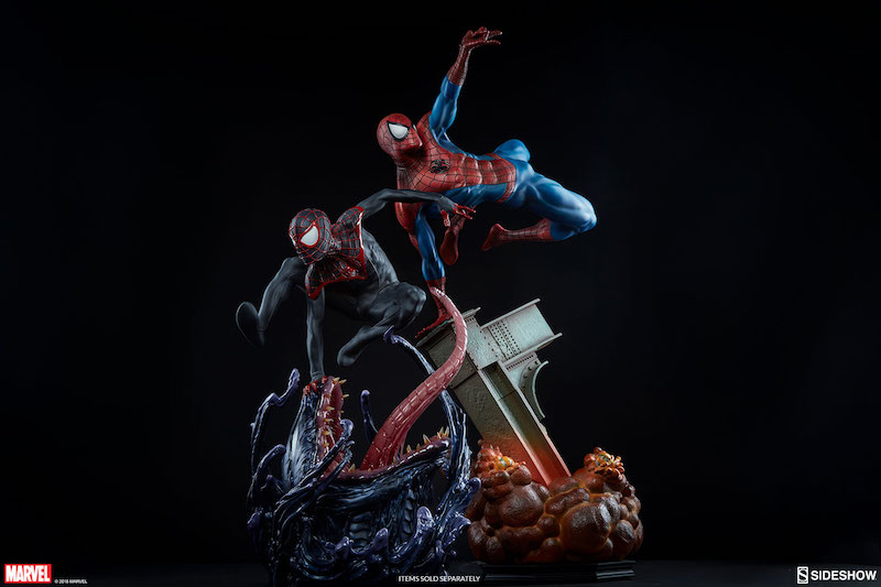 Sideshow Collectibles Spider-Man Miles Morales Premium Format Figure Pre-Orders