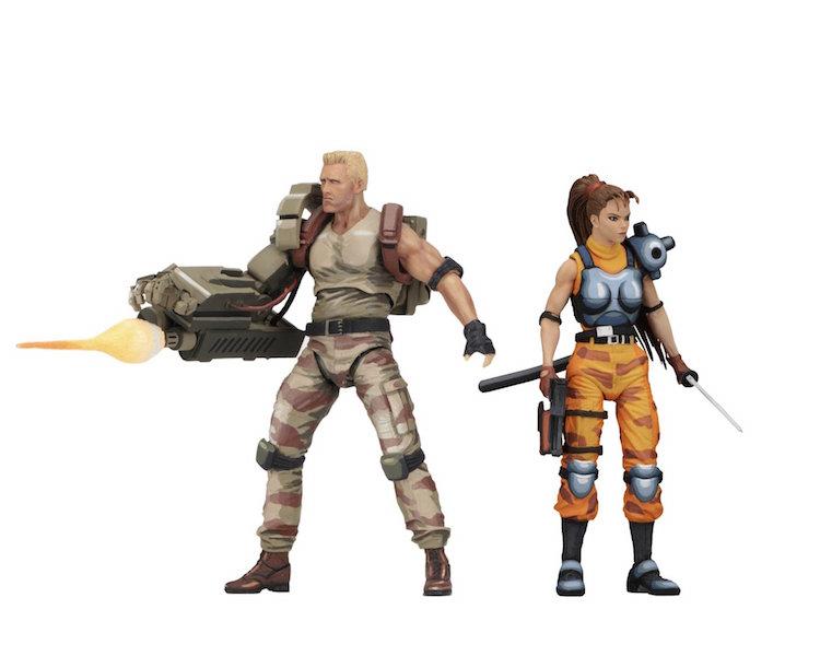 NECA Toys Alien Vs. Predator Arcade Appearance – Dutch & Lynn Figures 2 Pack