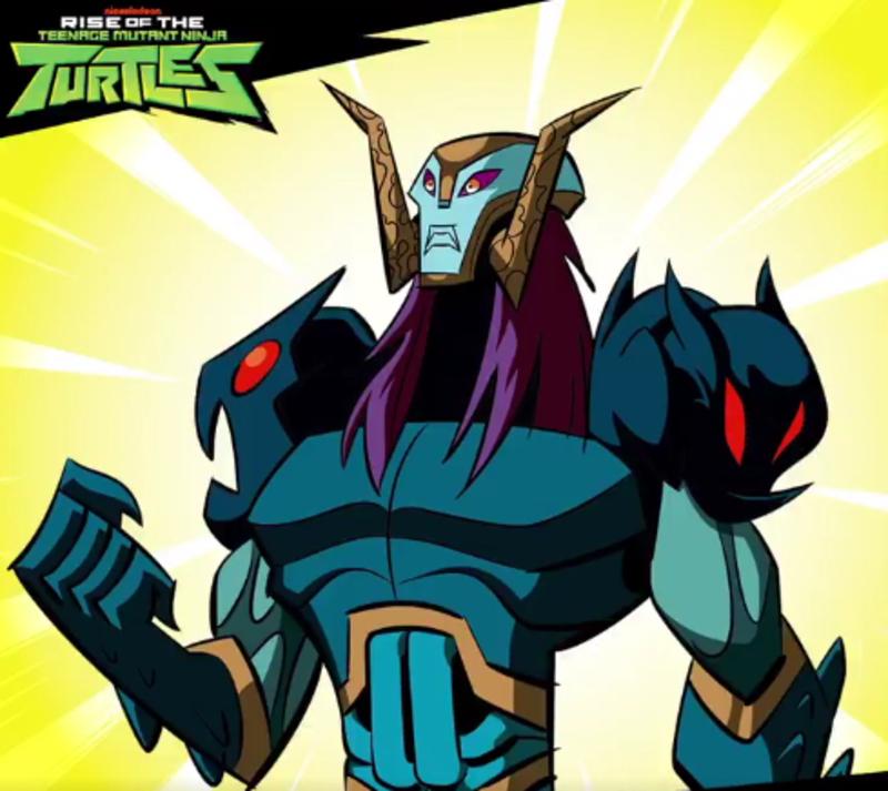 Nickelodeon Reveals Rise Of The Teenage Mutant Ninja Turtles Baron Draxum Villain