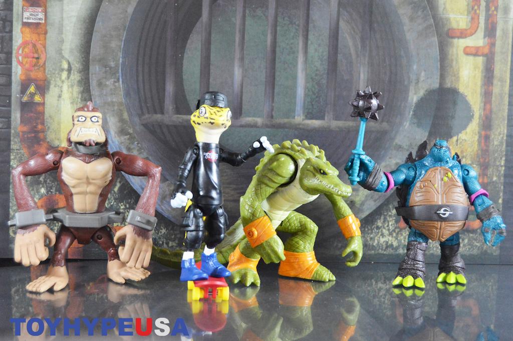 Playmates Toys Teenage Mutant Ninja Turtles Slash Version 2 Figure Review