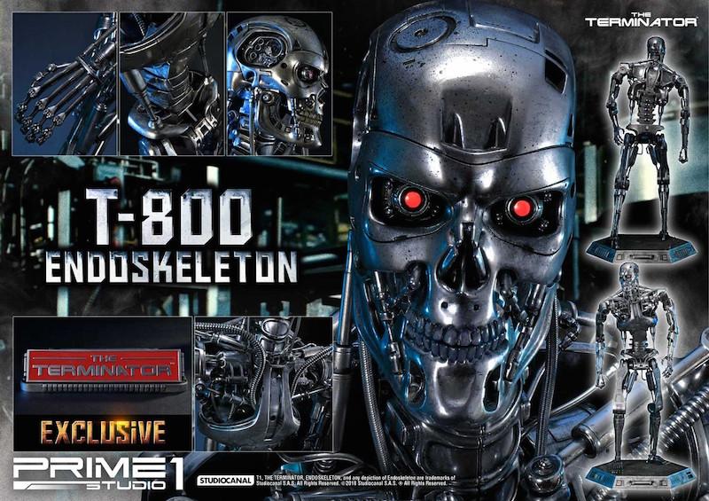 Prime 1 Studio The Terminator T-800 Endoskeleton Statue Pre-Orders