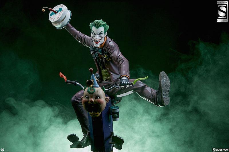 Sideshow Collectibles DC Comics The Joker Premium Format Figure Pre-Orders