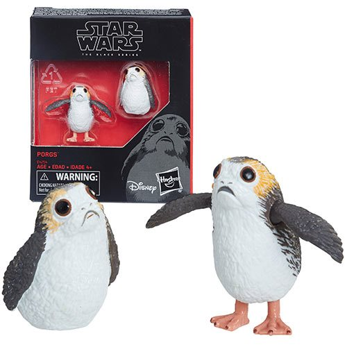 Hasbro Star Wars The Black Series 6″ Scale Porg 2-Pack Figures In-Stock On Amazon