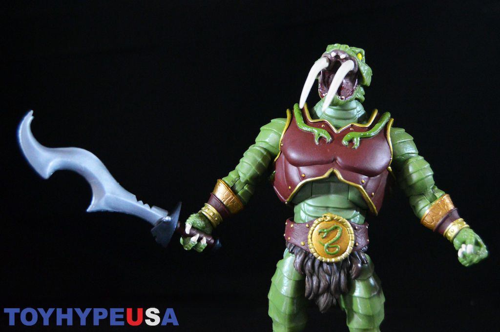 Super 7 Masters Of The Universe Classics Collector's Choice Fang-Or Figure Review